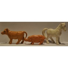 Britains Ltd Cow, Pig & Horse