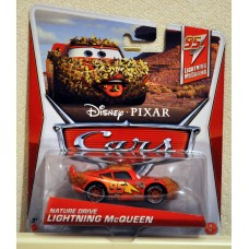 Disney Pixar Cars Nature Drive Lightning McQueen BNIB Diecast 1:55 Scale Kid Toy