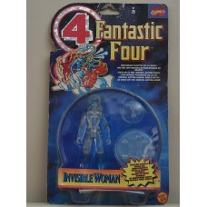 Fantastic Four Invisible Woman Vintage Action Figure Marvel Comics ToyBiz Toy