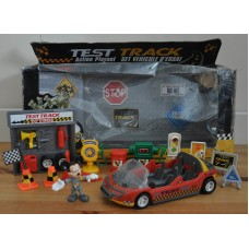 Disney Mickey Mouse Test Track Action Playset Bundle Kids Toys