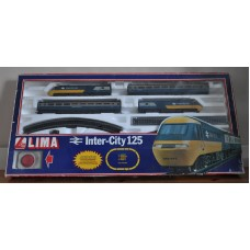 LIMA Inter City 125 British Rail Model OO Gauge Train Set Loco Coach not Hornby