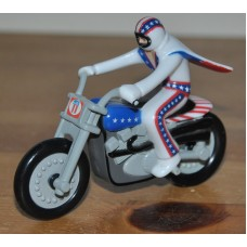 Evel Knievel Bike Only Approx 10cm Long Plastic & Metal Kids Toy