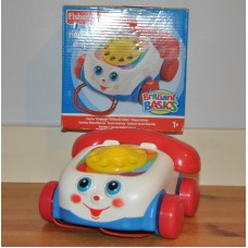 Fisher Price Brilliant Basics Chatter Telephone Boxed Kids Toy Great Condition