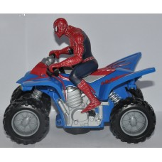 Spider Man Action Figure & Motorbike / Bike 2007 Marvel